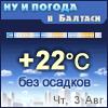 GISMETEO RU: Погода в Балтаси на сегодня, завтра